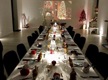 soirée Noël privée @ L'Ecole Buissonnière - événement, Blois